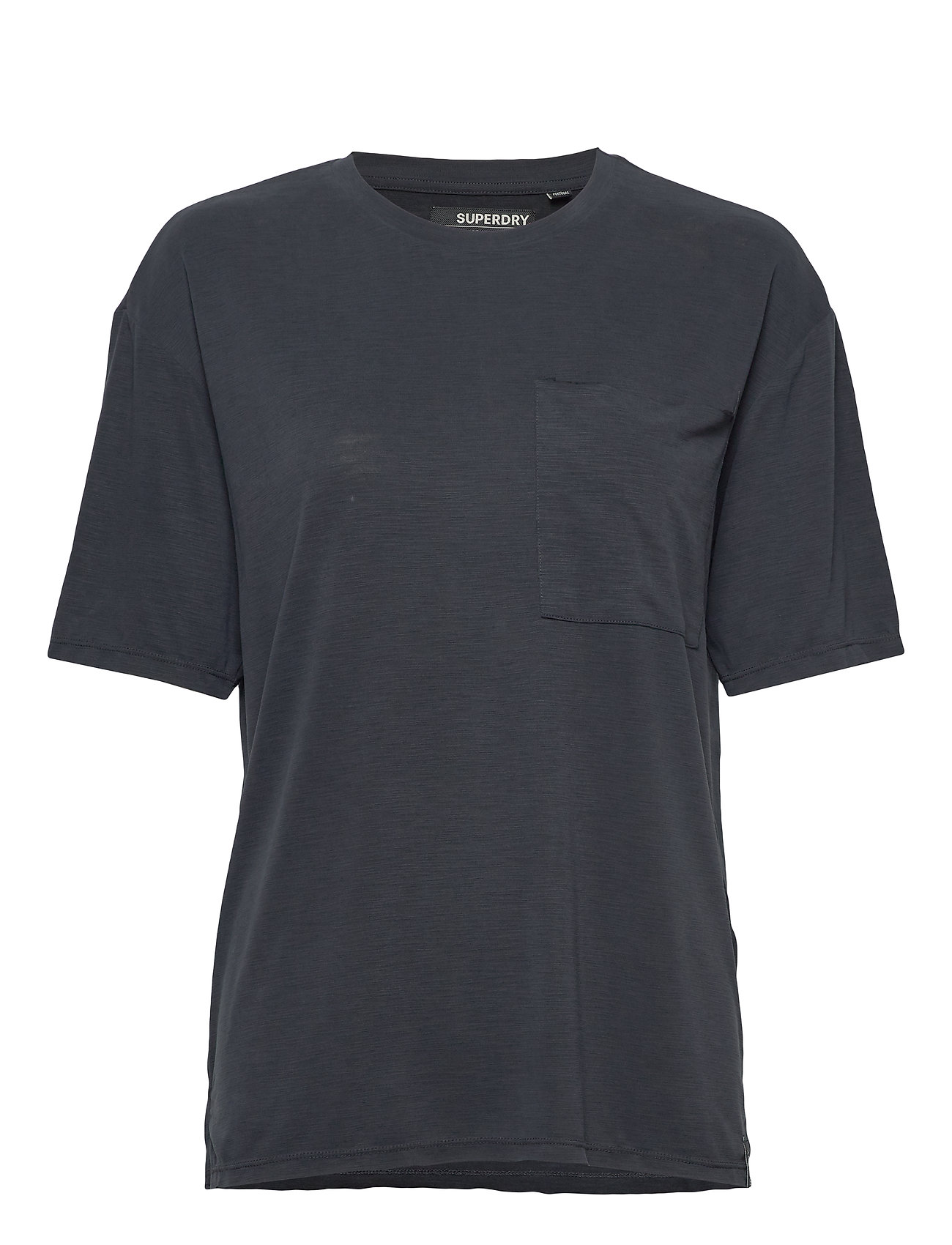 Superdry CANYON ESSENTIAL PoCKET TEE - BLACK