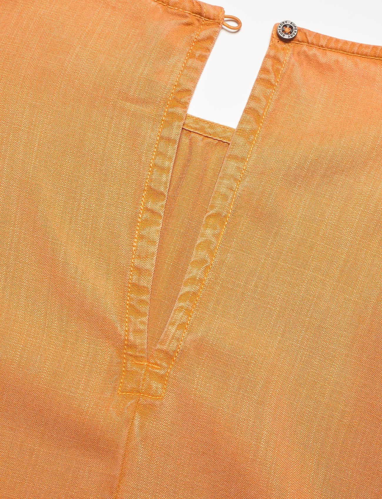 Superdry - WOVEN TSHIRT - short-sleeved blouses - sunset - 3