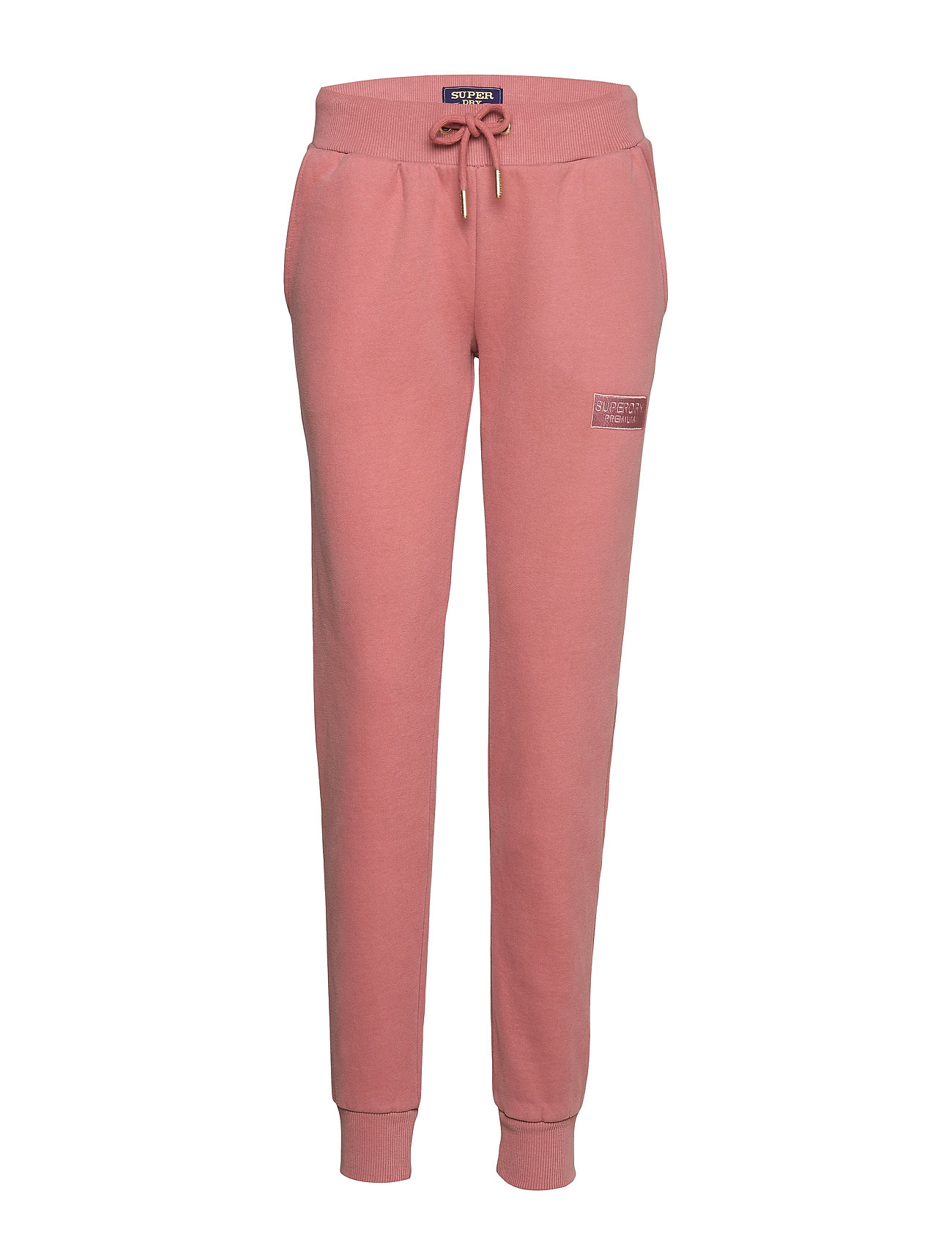 Superdry RAVEN SLIM JOGGER - ROSE TAN
