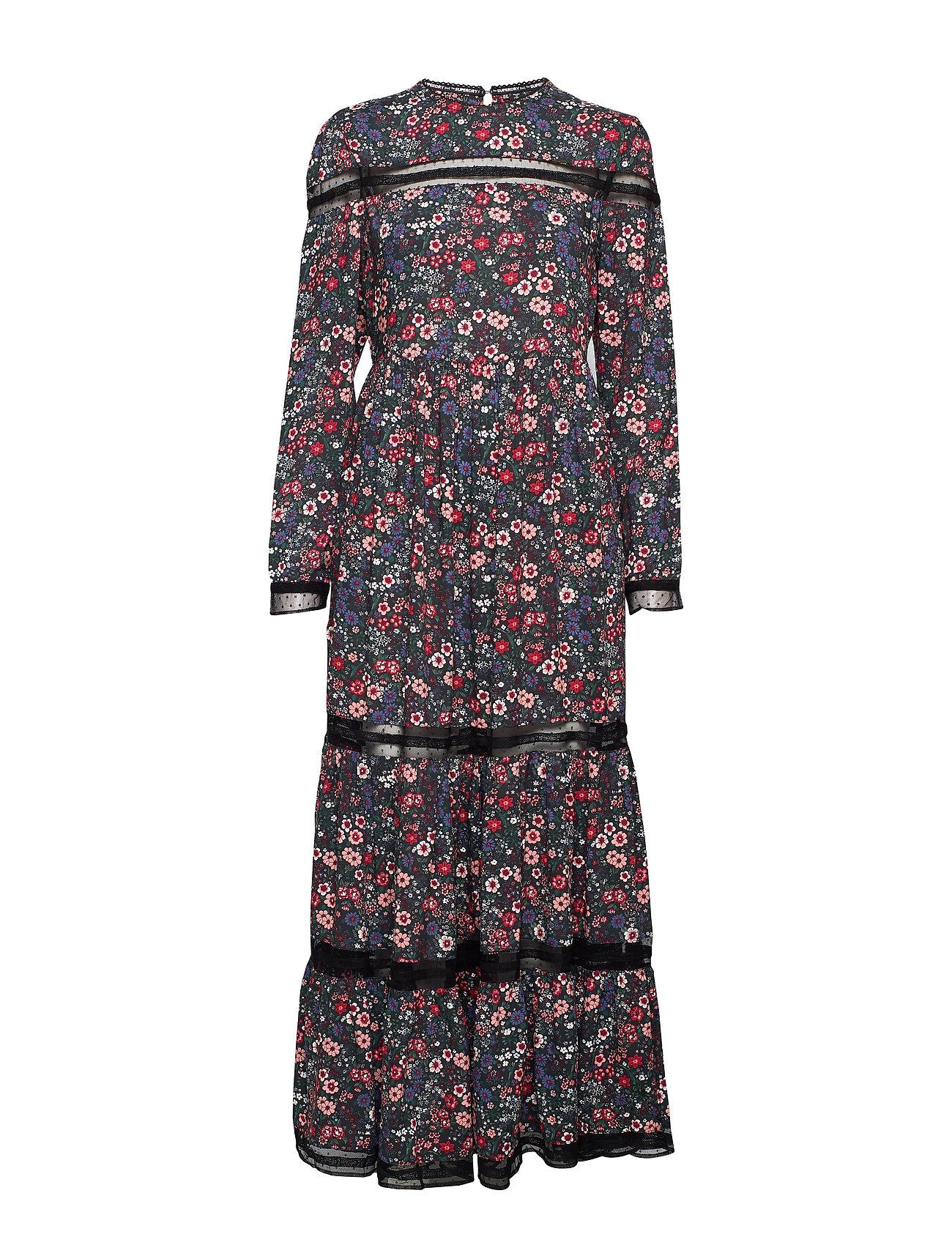 Superdry SKYLAR MAXI DRESS - JANIE FLORAL PRINT