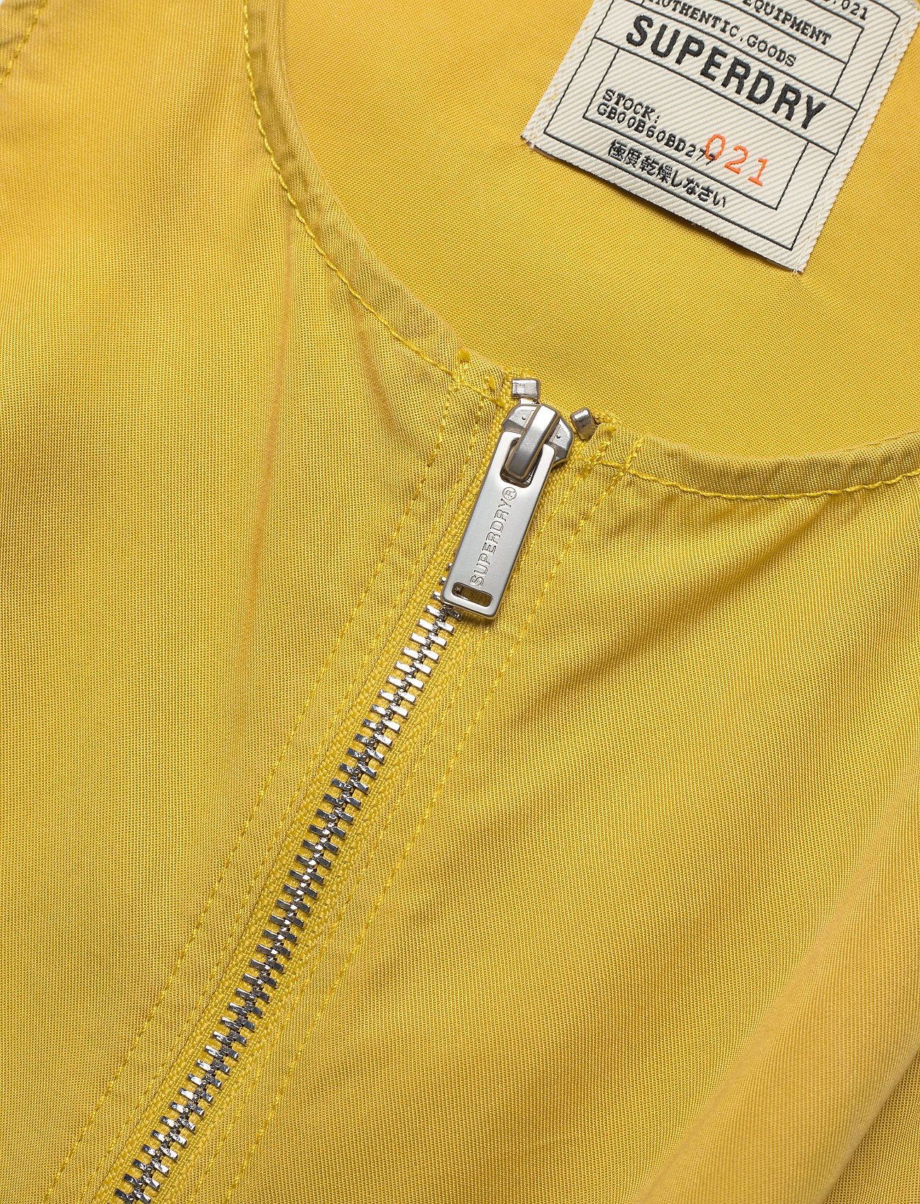 Superdry - NEVADA HALTER PLAYSUIT - clothing - oil yellow - 2