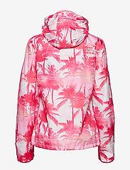 Superdry - BLACK EDITION WINDCHEATER - lichte jassen - pink pastel palm/silver/neon pink - 2
