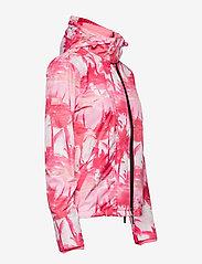 Superdry - BLACK EDITION WINDCHEATER - lichte jassen - pink pastel palm/silver/neon pink - 3