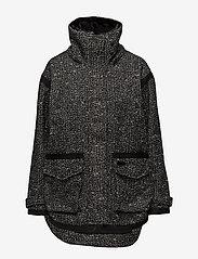 Superdry - FJORD OVOID PARKA - parka coats - grey twill boucle - 2