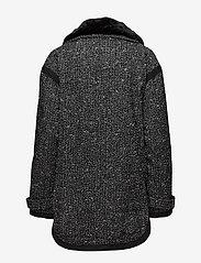 Superdry - FJORD OVOID PARKA - parka coats - grey twill boucle - 4