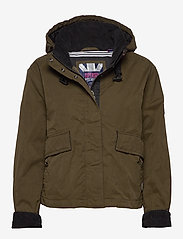 Superdry - TRAIL DRIFT JACKET - down- & padded jackets - olive - 0