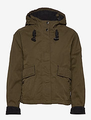 Superdry - TRAIL DRIFT JACKET - down- & padded jackets - olive - 1