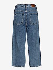 Superdry - PHOEBE WIDE LEG - broeken met wijde pijpen - granite blue - 1