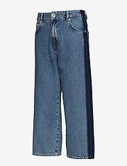 Superdry - PHOEBE WIDE LEG - broeken met wijde pijpen - granite blue - 2