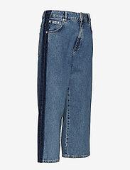 Superdry - PHOEBE WIDE LEG - broeken met wijde pijpen - granite blue - 3