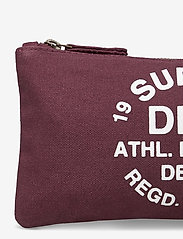 Superdry - ATHL LEAGUE PENCIL CASE - etui - burgundy - 3