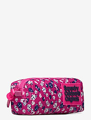 Superdry - MS DITSY MONTANA PENCIL CASE - etui - fluro pink/white - 2