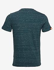 Superdry - Ol Vintage Embroidery Tee - perus t-paidat - deep teal space dye - 1