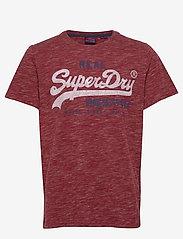 Superdry - Vl Premium Goods Tee - lyhythihaiset - brick red space dye - 0