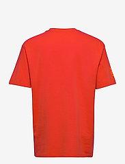 Superdry - SUPER 5 DECONSTRUCT TEE - t-shirts à manches courtes - havana orange - 1