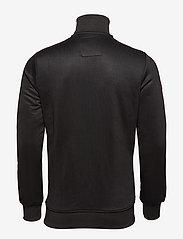 Superdry - ORANGE LABEL TRI TRACK TOP - track jackets - black - 1