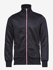 Superdry - ORANGE LABEL TRI TRACK TOP - track jackets - navy - 0