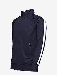 Superdry - LINEMAN SLIM FIT TRACK TOP - track jackets - track navy/optic - 2