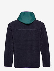 Superdry - SHERPA ZIP THRU HOOD - basic-sweatshirts - nautical navy - 1