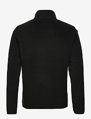 Superdry - B TRAIL POLAR FLEECE POP OVER - basic-sweatshirts - black - 1