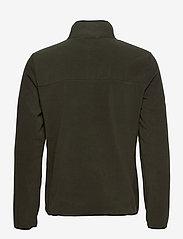 Superdry - B TRAIL POLAR FLEECE POP OVER - basic-sweatshirts - surplus goods olive - 1
