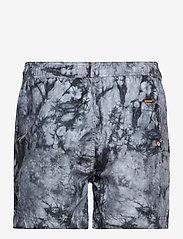 Superdry - TIE-DYE VOLLEY SWIM SHORT - shorts de bain - grey tie dye - 1