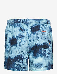 Superdry - TIE-DYE VOLLEY SWIM SHORT - shorts de bain - navy tie dye - 1