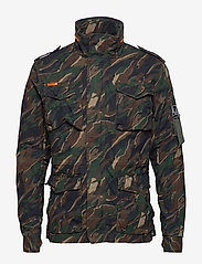 Superdry - CLASSIC ROOKIE 4 POCKET JACKET - light jackets - black kho - 1
