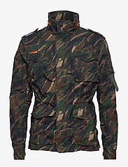 Superdry - CLASSIC ROOKIE 4 POCKET JACKET - light jackets - black kho - 2