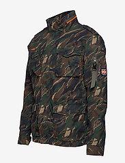 Superdry - CLASSIC ROOKIE 4 POCKET JACKET - light jackets - black kho - 4