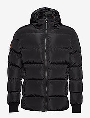 Superdry - CONVERTER PUFFER - padded jackets - black - 1