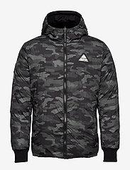 Superdry - CONVERTER PUFFER - padded jackets - black - 4