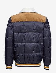 Superdry - DOWNHILL RACER BOX QUILT JKT - padded jackets - true navy - 2