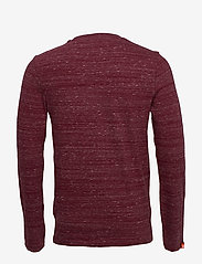 Superdry - Ol Vintage Emb Ls Top - perus t-paidat - brick red space dye - 1