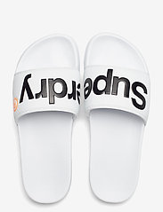Superdry - CLASSIC SUPERDRY POOL SLIDE - pool sliders - optic - 3