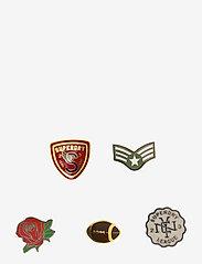 Superdry - CUSTOM PIN BADGE PACK - sleutelringen - edition 02 - 0