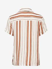 Superdry - ARIZONA VINTAGE SHIRT - overhemden met korte mouwen - orange stripe - 1