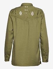 Superdry - MILITARY SHIRT LONG - clothing - trekking olive - 1