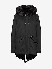 Superdry - FALCON ROOKIE PARKA - parka coats - military black - 1