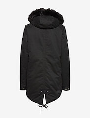 Superdry - FALCON ROOKIE PARKA - parka coats - military black - 3