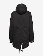 Superdry - FALCON ROOKIE PARKA - parka coats - military black - 4