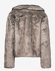 Superdry - Boho Faux Fur Jacket - faux fur - mink - 2