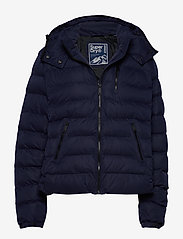 Superdry - Summer Microfibre Jacket - fôrede jakker - atlantic navy - 0