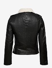 Superdry - Aviator Leather Biker - skinnjackor - black - 2