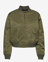 Superdry - MA1 BOMBER - bomber jackets - trekking olive - 0