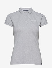 Superdry - PoLO SHIRT - pikeepaidat - grey marl - 0