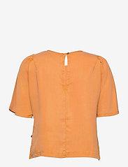 Superdry - WOVEN TSHIRT - short-sleeved blouses - sunset - 1