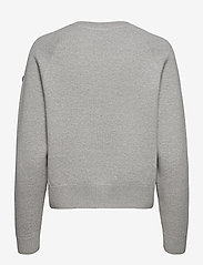 Superdry - ESSENTIAL COTTON CREW - sweaters - mid marl - 1