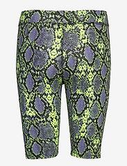 Superdry - DESERT BIKE SHORT - cycling shorts - neon snake print - 1