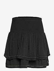Superdry - AMEERA MINI SMOCKED SKIRT - korta kjolar - black - 0
